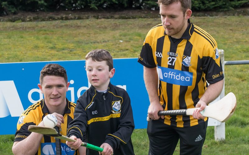 Affidea presents Kilkenny's danesfort gaa club with new kit