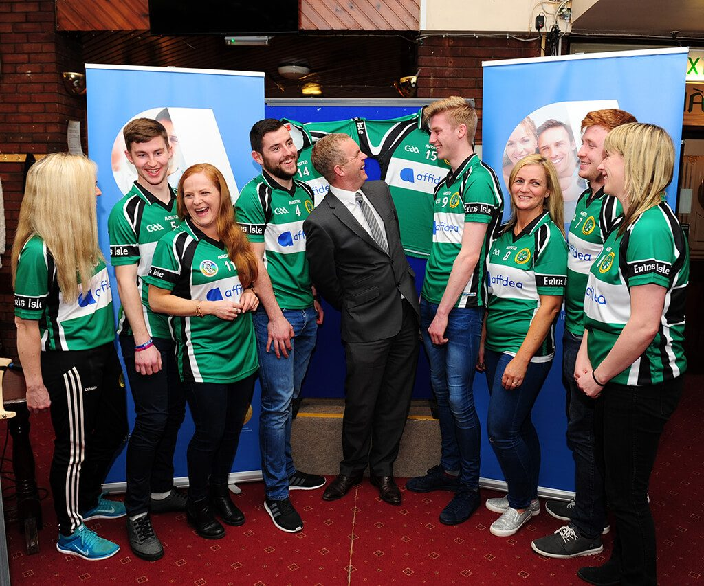035d93350e8 Affidea Ireland Launch New Sponsorship deal with Erin's Isle GAA Club