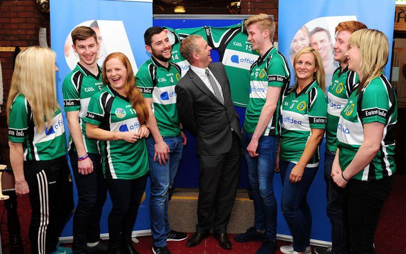 Affidea Ireland Launch New Sponsorship deal with Erin's Isle GAA Club